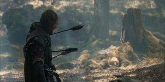 boromir-death-three-arrows